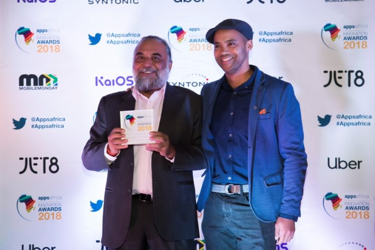 "Yego Innovision Limited wins ""Best Mobility Solution"" at AppsAfrica 2018, Cape Town"