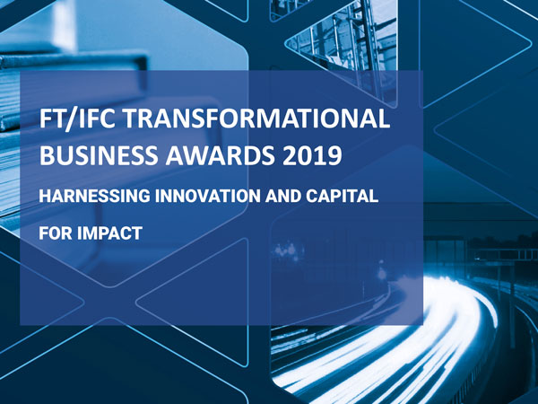 YEGO – Shortlisted for FT/IFC TRANSFORMATIONAL BUSINESS AWARDS 2019