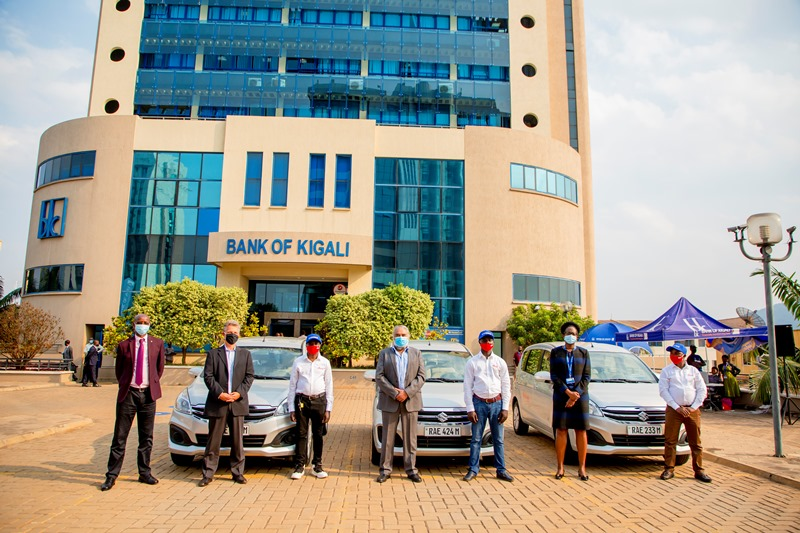 BK, Yego Innovision na Rwanda Motor batangije gahunda yo gufasha  abashoferi kubona imodoka nshya
